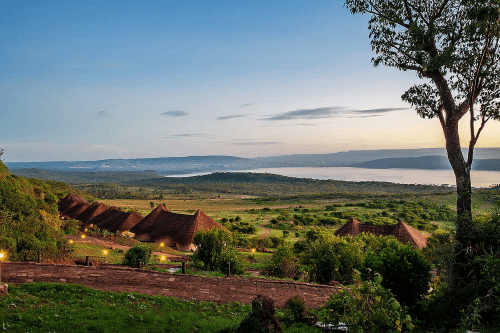 lake nakuru sopa lodge aankomst.png