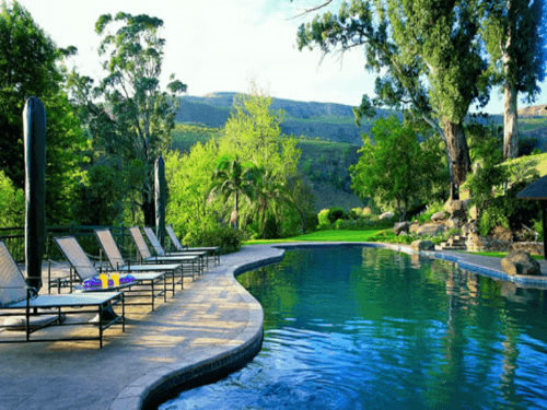 The Cavern Drakensberg Resort pool