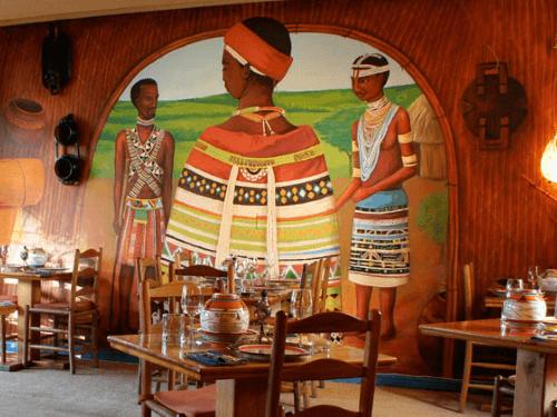 Townhouse Hotel restaurant