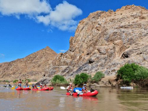 orange river canoe