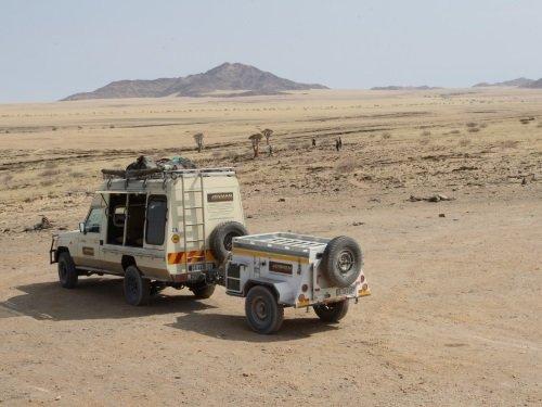4-WD safari vehicle