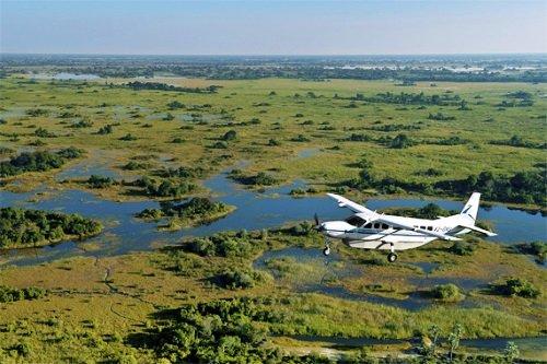 Okavango Delta scenic flight