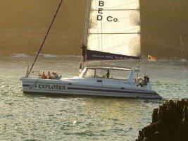 Zeiltocht per catamaran Knysna