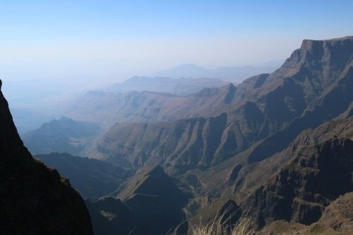 Witsieshoek Mountain Lodge omgeving