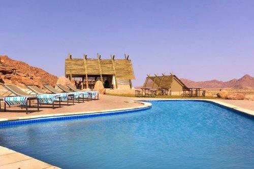 Desert Quiver Camp zwembad