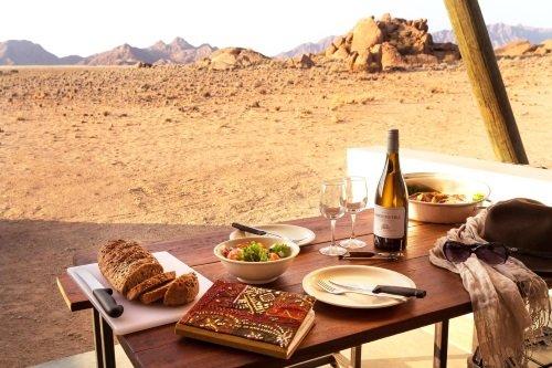 Desert Quiver Camp uitzicht kamer
