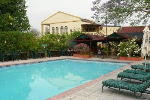 Sedia Riverside Hotel zwembad
