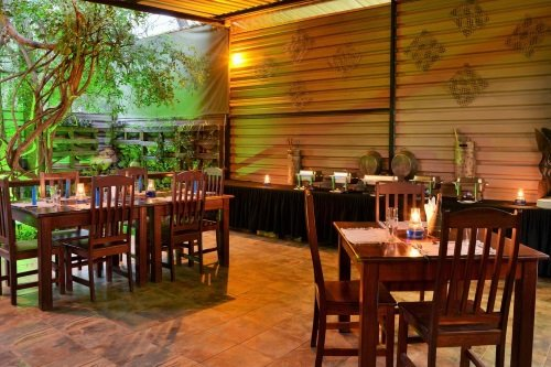 Thebe River Safaris restaurant