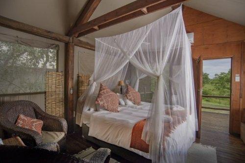 Nkambeni Safari Camp tent van binnen