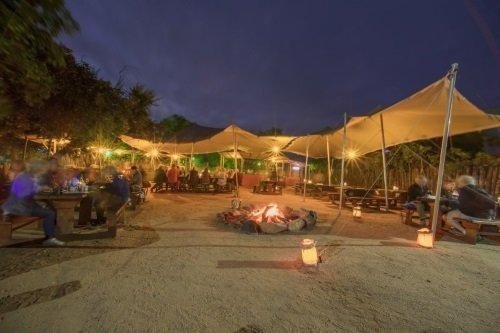 Nkambeni Safari Camp buiten eten