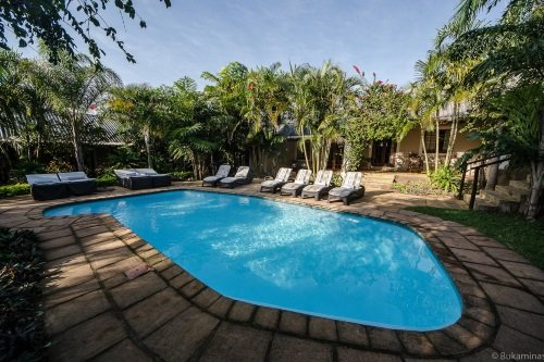 Lidiko Lodge zwembad