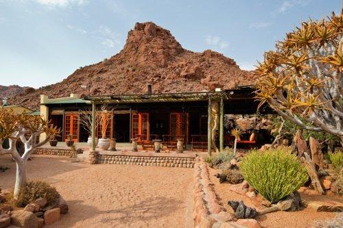 Namtib Desert Lodge buitenkant