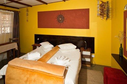 Namtib Desert Lodge kamer binnen