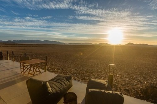 The Elegant Desert Eco Camp terras