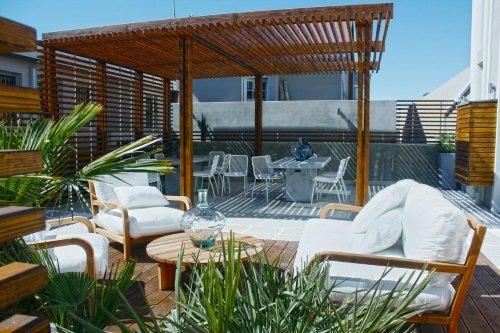 Swakopmund Luxury Suites terras