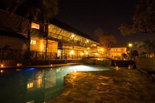 Maun Lodge zwembad