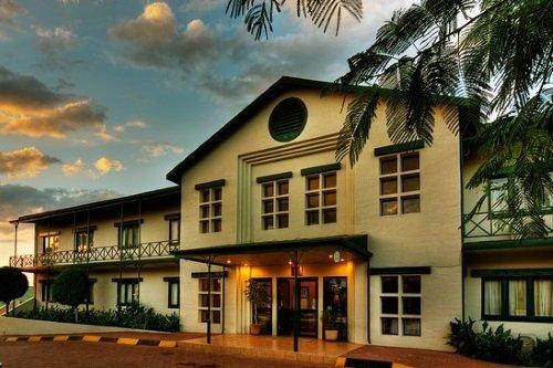 Maun Lodge gebouw