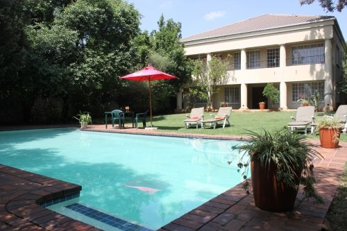 Greenfire Lodge Johannesburg zwembad