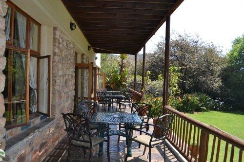 Greenfire Lodge Johannesburg balkon