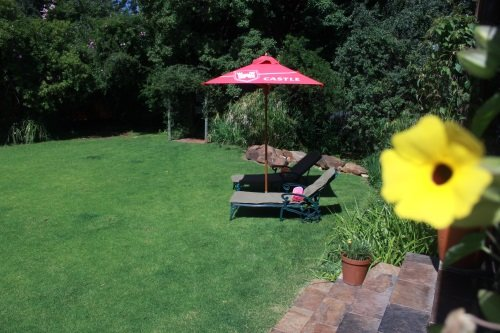 Greenfire Lodge Johannesburg tuin