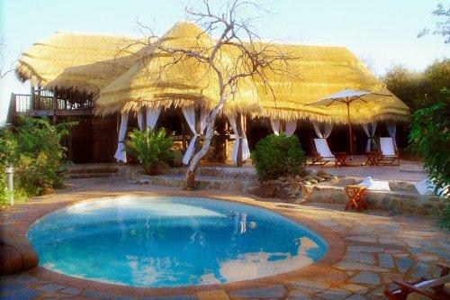 White Elephant Bush Camp zwembad