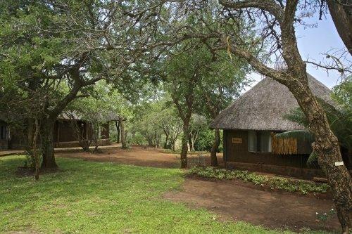 White Elephant Bush Camp huisjes
