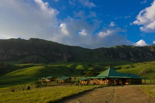 Greenfire Lodge Drakensberg buitenkant