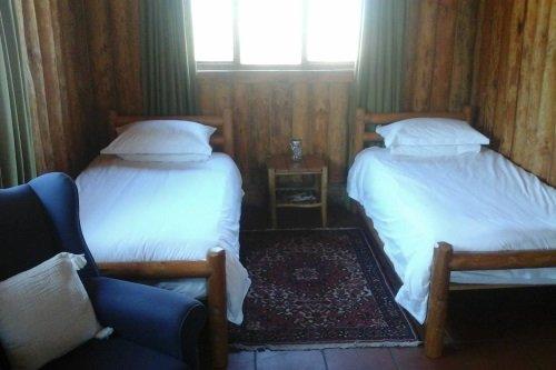 Greenfire Lodge Drakensberg blokhut binnen