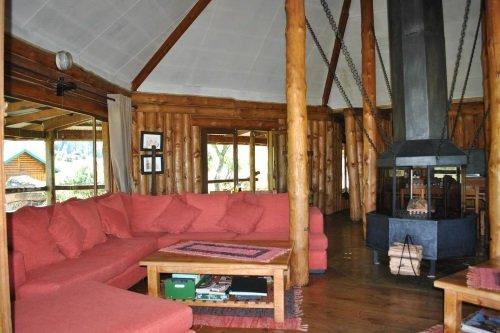 Greenfire Lodge Drakensberg zitkamer