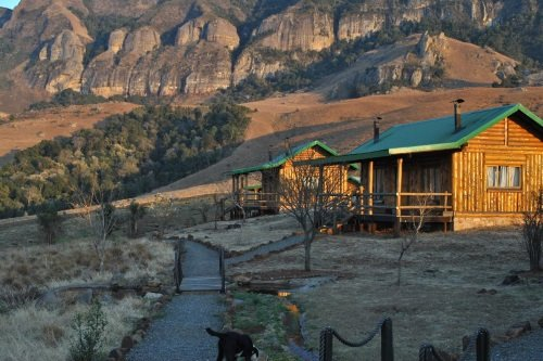 Greenfire Lodge Drakensberg blokhut 2