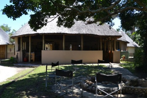 Greenfire Lodge Wild Coast terrein