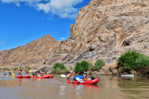 orange river canoe 002