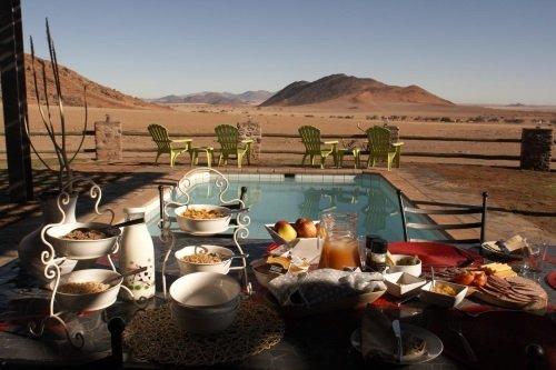 Greenfire Desert Lodge zwembad