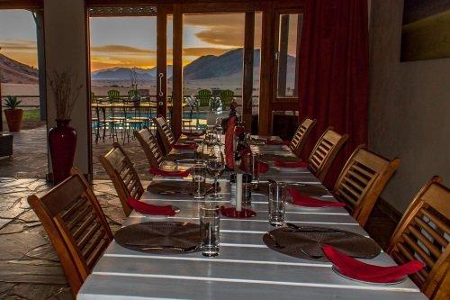 Greenfire Desert Lodge diner