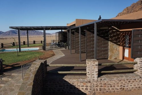 Greenfire Desert Lodge buitenkant