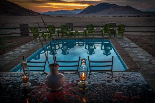 Greenfire Desert Lodge zwembad 2