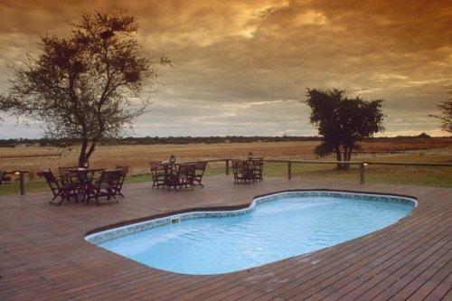 Drifters Maun Lodge zwembad