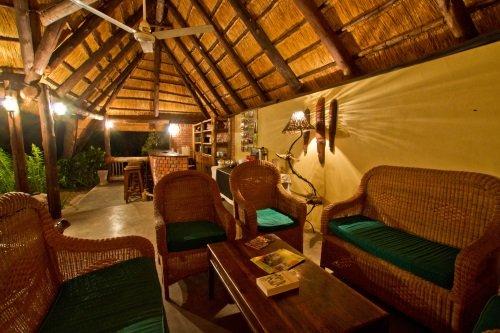 Greenfire Lodge Victoria Falls zitgedeelte