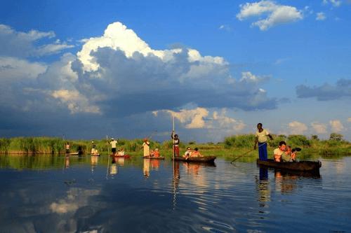 Private Island in the middle of the Okavango Delta 006