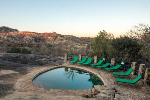 Big Cave Lodge zwembad