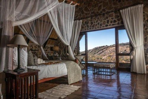 Big Cave Lodge kamer 1 bed