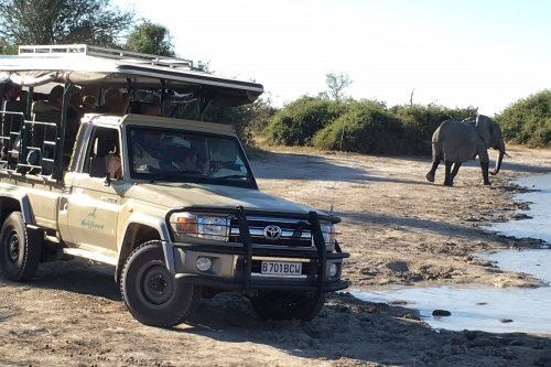 Drifters mobiele safaridagen Botswana