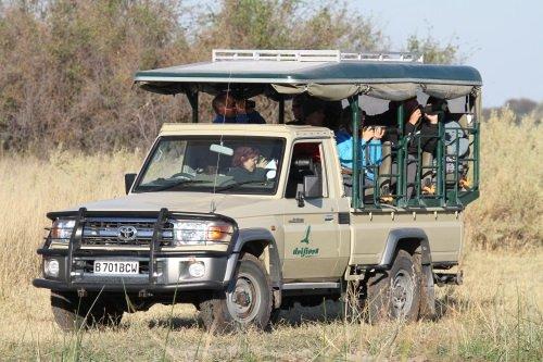 Drifters mobiele safaridagen Botswana 003