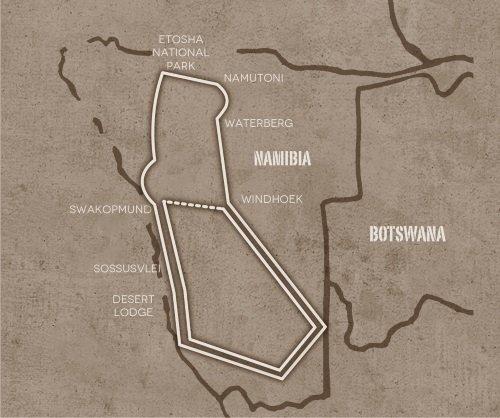 groepsreis zuidelijke Afrika Op avontuur door Namibie