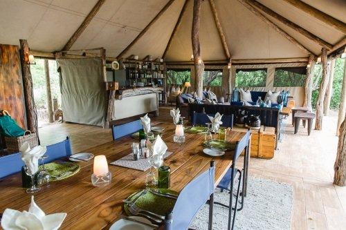 Sango Safari Camp gemeenschappelijke ruimte 004