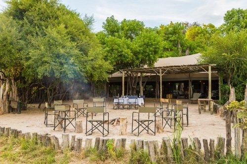 Sango Safari Camp kampvuur