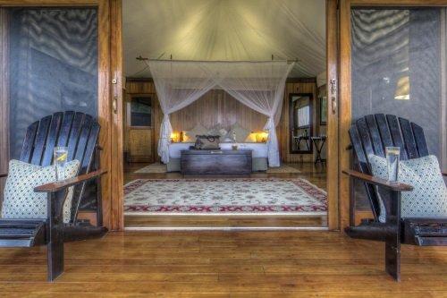 Kanana Camp kamer vanaf buiten