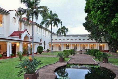 Victoria Falls Hotel tuinen