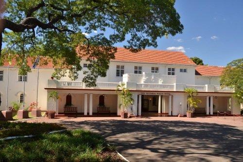 Victoria Falls Hotel entree