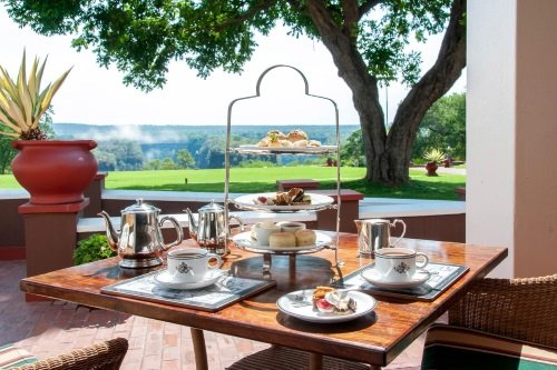 Victoria Falls Hotel afternoon tea